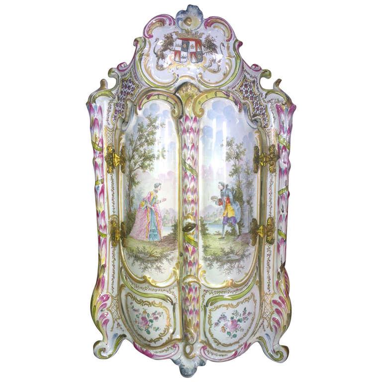 18th Century Miniature Cabinet Jewelry Box At 1stdibs