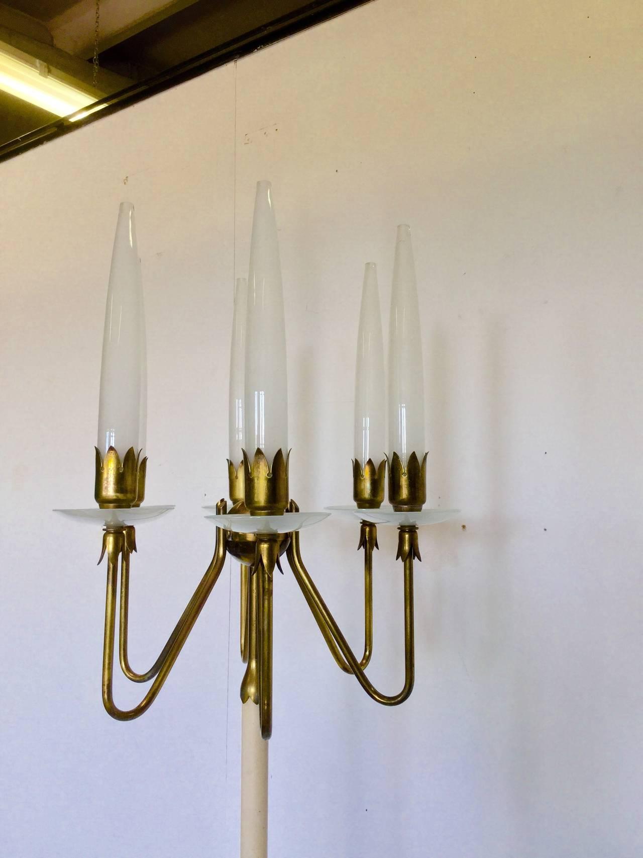 Floor lamp by arredoluce at 1stdibs for Arredo luce