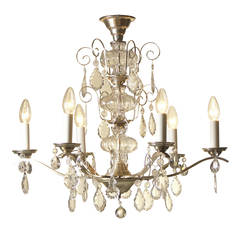 Very Charming and Elegant 1950s Chandelier