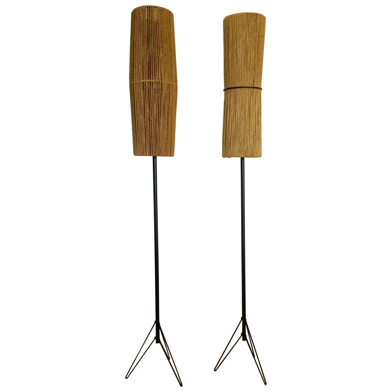 Two italian floor lamp 1950 at 1stdibs for 1950 floor lamp