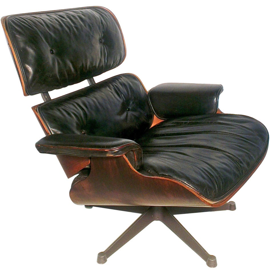 charles eames lounge chair by herman miller at 1stdibs. Black Bedroom Furniture Sets. Home Design Ideas