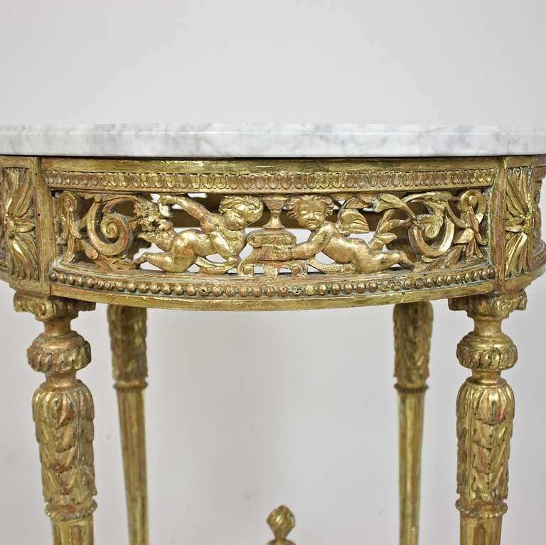 Transition Period Giltwood Center Table 4