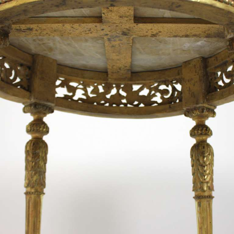 Transition Period Giltwood Center Table 7