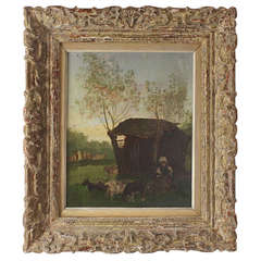 Summer Landscape By Carl Schwenn 1888 1973 At 1stdibs