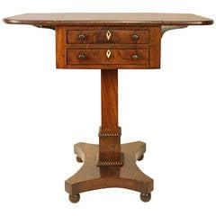 Early 19th Century Regency Mahogany Side Table