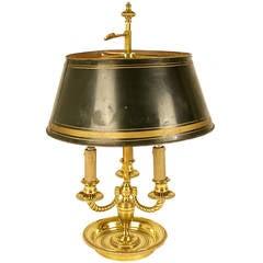 A Louis XVI Style Bouillotte Lamp