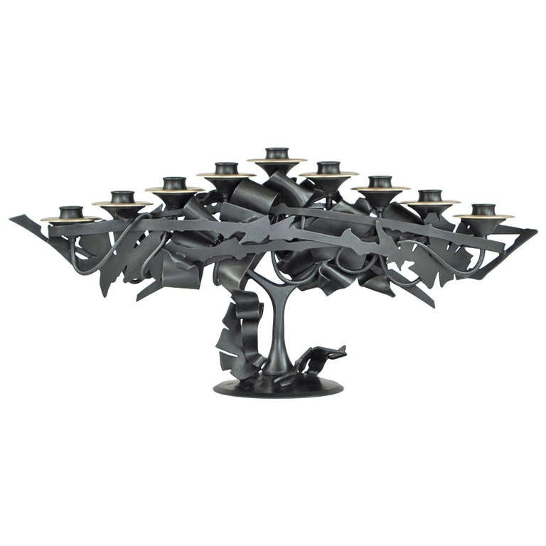 Albert Paley, Menorah, 2013 1