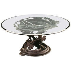 Albert Paley Dragon's Back Table