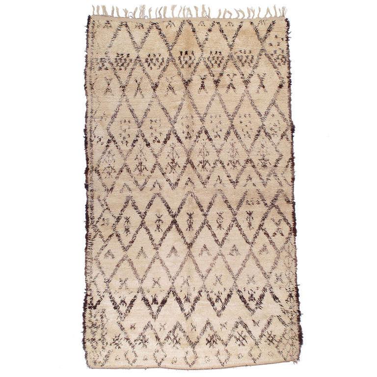 Beni Ouarain Moroccan Berber Rug