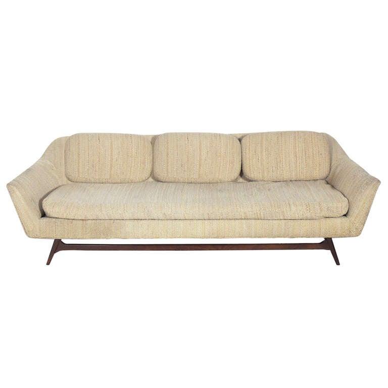 mid century modern sofa at 1stdibs