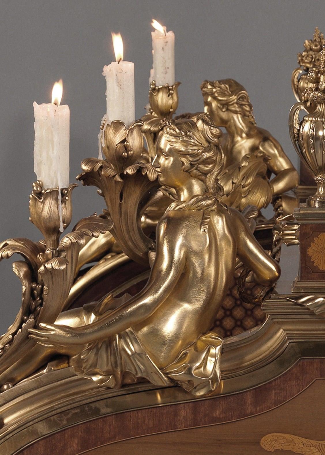 le bureau du roi a magnificent secr taire cylindre by. Black Bedroom Furniture Sets. Home Design Ideas