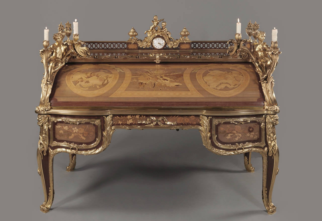 Le bureau du roi by françois linke for sale at 1stdibs