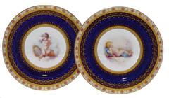 Pair of Porcelain Plates by Minton