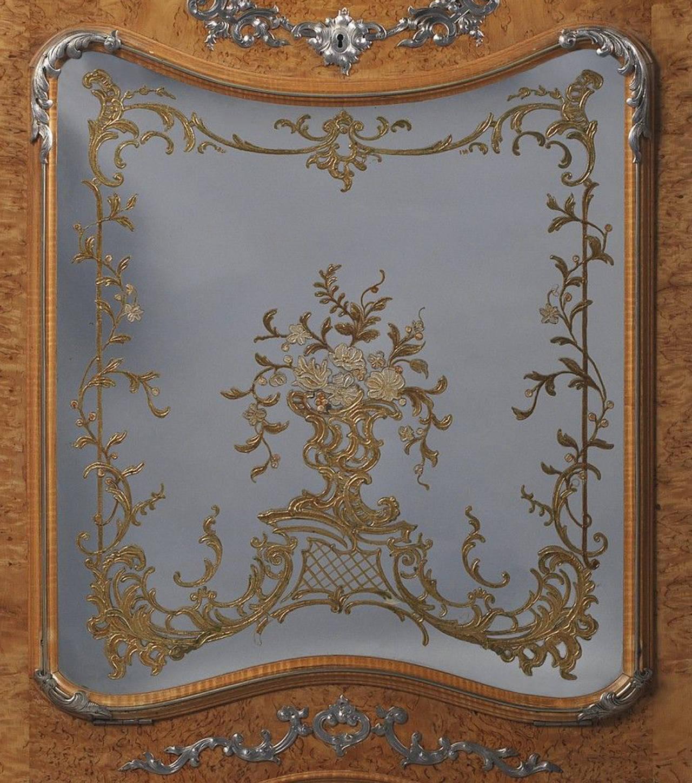 Lacquered Secretaire Screen, circa 1890 5