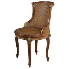 Mahogany Desk Chair by François Linke, circa 1910