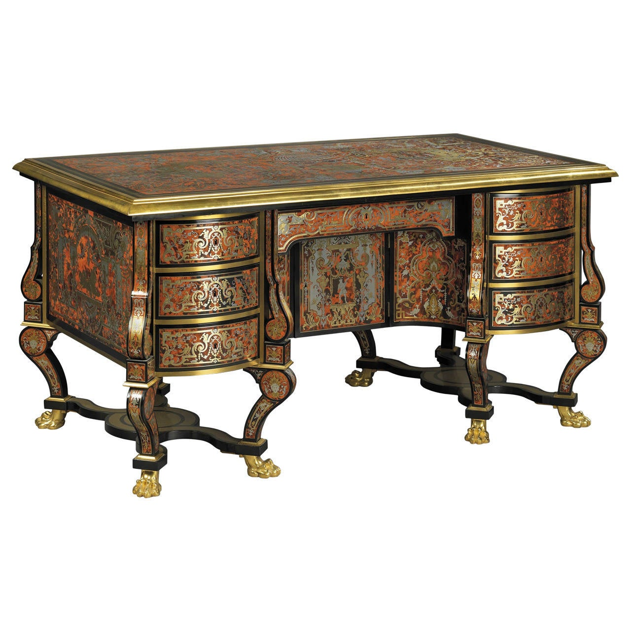 bureau mazarin desk for sale at 1stdibs. Black Bedroom Furniture Sets. Home Design Ideas