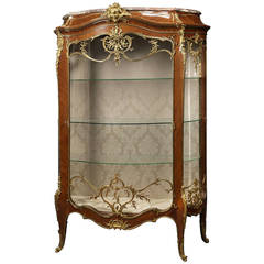 Louis XV Style Exhibition Vitrine by François Linke, French, circa 1890