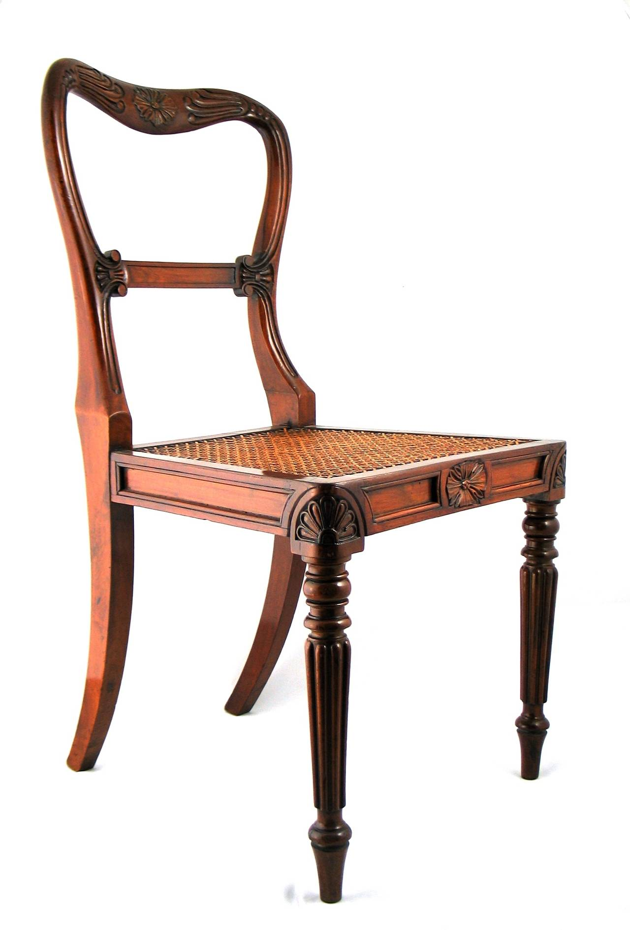 Set Of 18 Dining Chairs Attributed To Gillows For Sale At