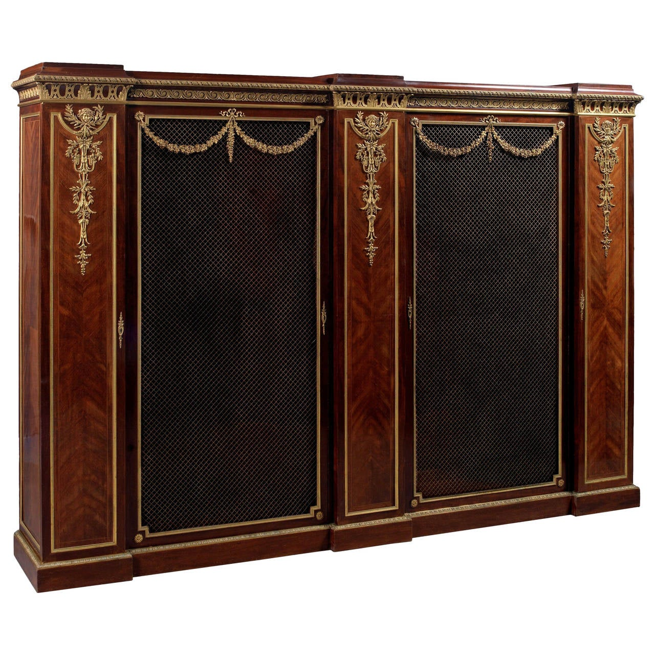 Mahogany Bookcase by François Linke