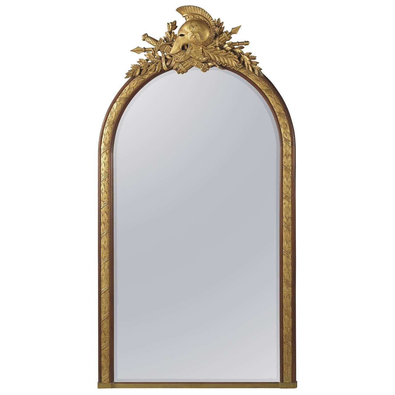 Empire Style Mirror by Alix A Paris