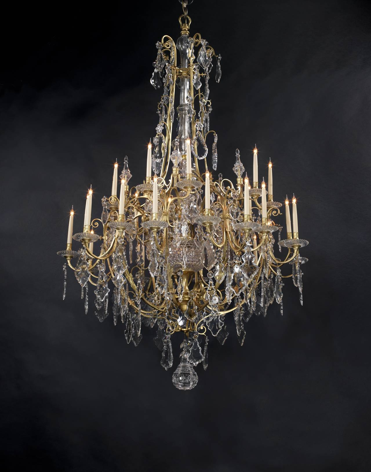 Large louis xv style thirty light cage chandelier for sale at 1stdibs large louis xv style thirty light cage chandelier 3 arubaitofo Gallery