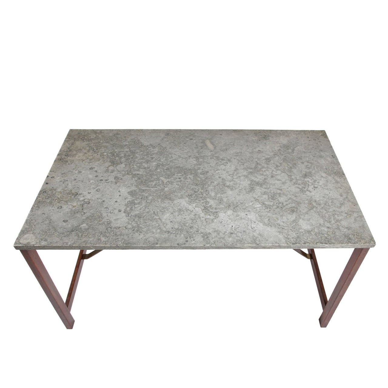 Coffee Table With Marble Top At 1stdibs