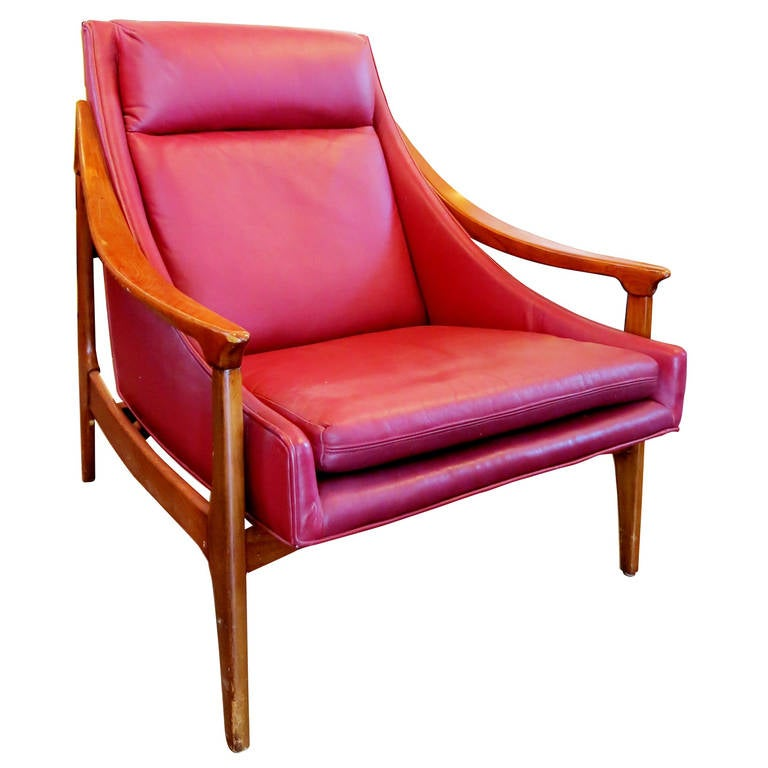 1950s Scandinavian Lounge Chair 1
