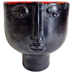 Robert and Jean Cloutier Ceramic Vase