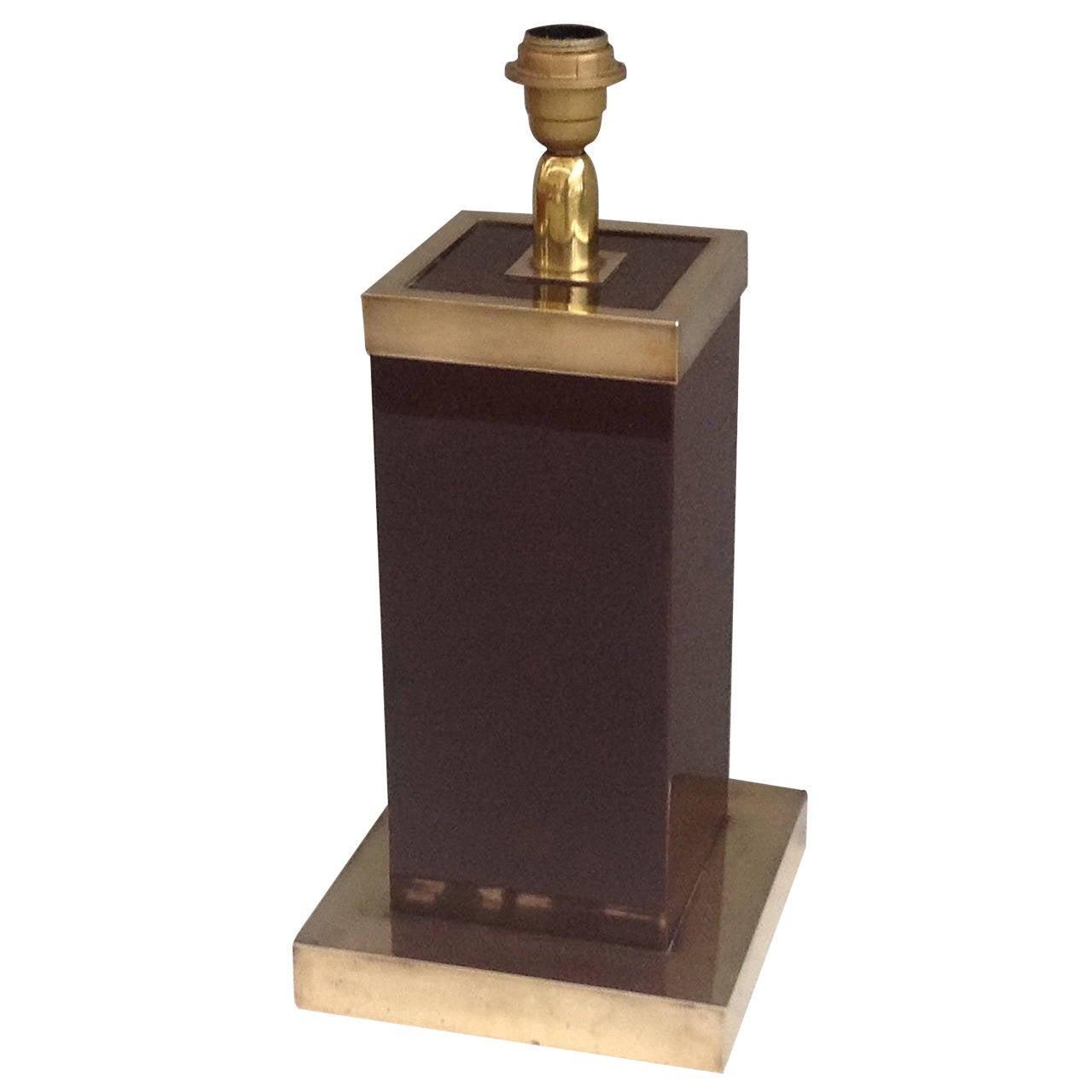 Table Lamp Signed by Romeo Rega
