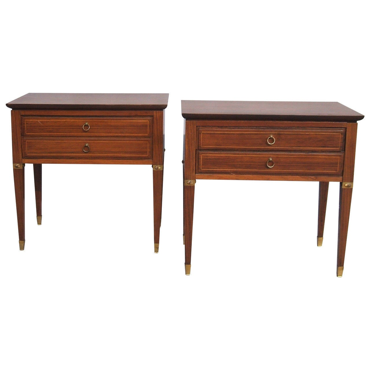 Pair of Side Tables in the Style of Paolo Buffa