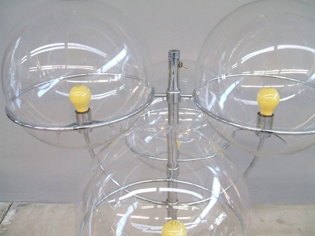 Lyndon De Sol Floor Lamp by Vico Magistretti For Sale 1