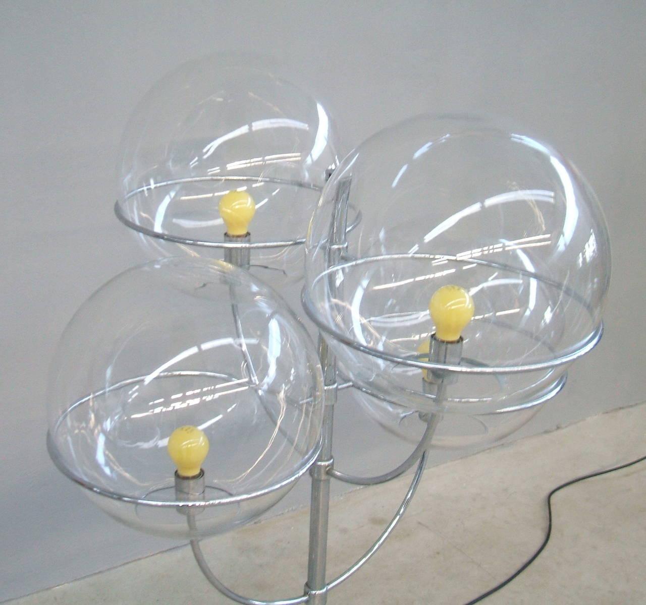 Mid-Century Modern Lyndon De Sol Floor Lamp by Vico Magistretti For Sale