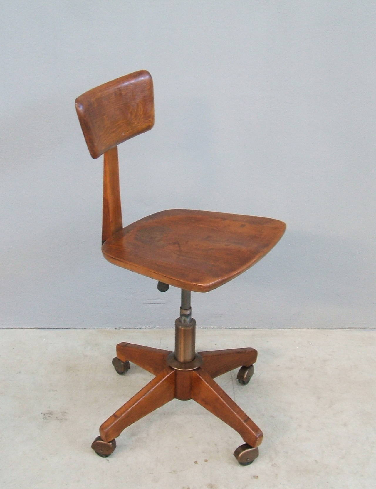 Architect S Working Chair At 1stdibs