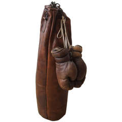 Historic Leather Punching Bag
