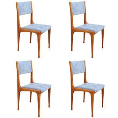 Elegant Set of Four Carlo de Carli Chairs