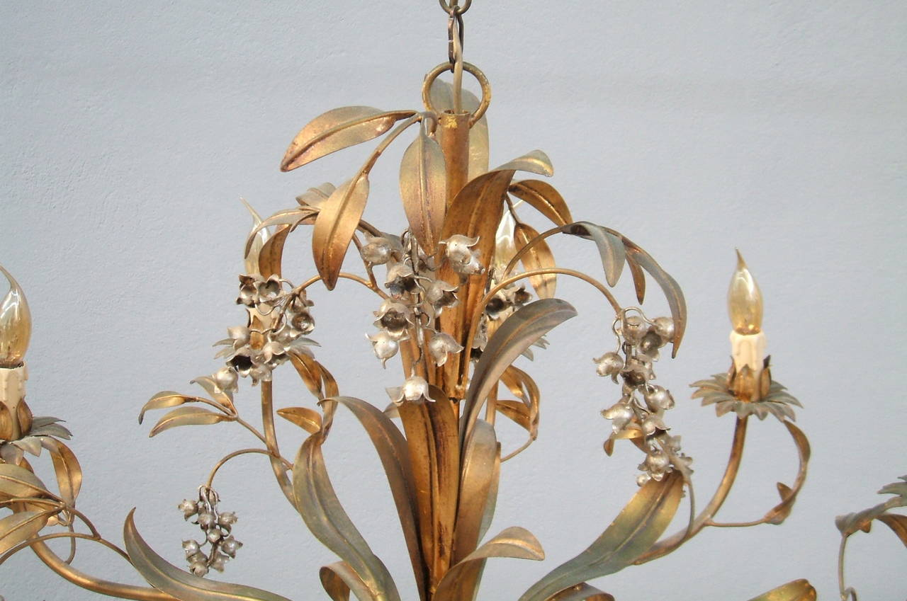 Magnificient French Floral Chandelier At 1stdibs