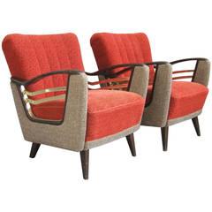 Wonderful Pair of Armchairs