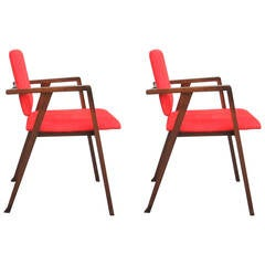 "Pair of Chairs ""Luisa"" by Franco Albini"