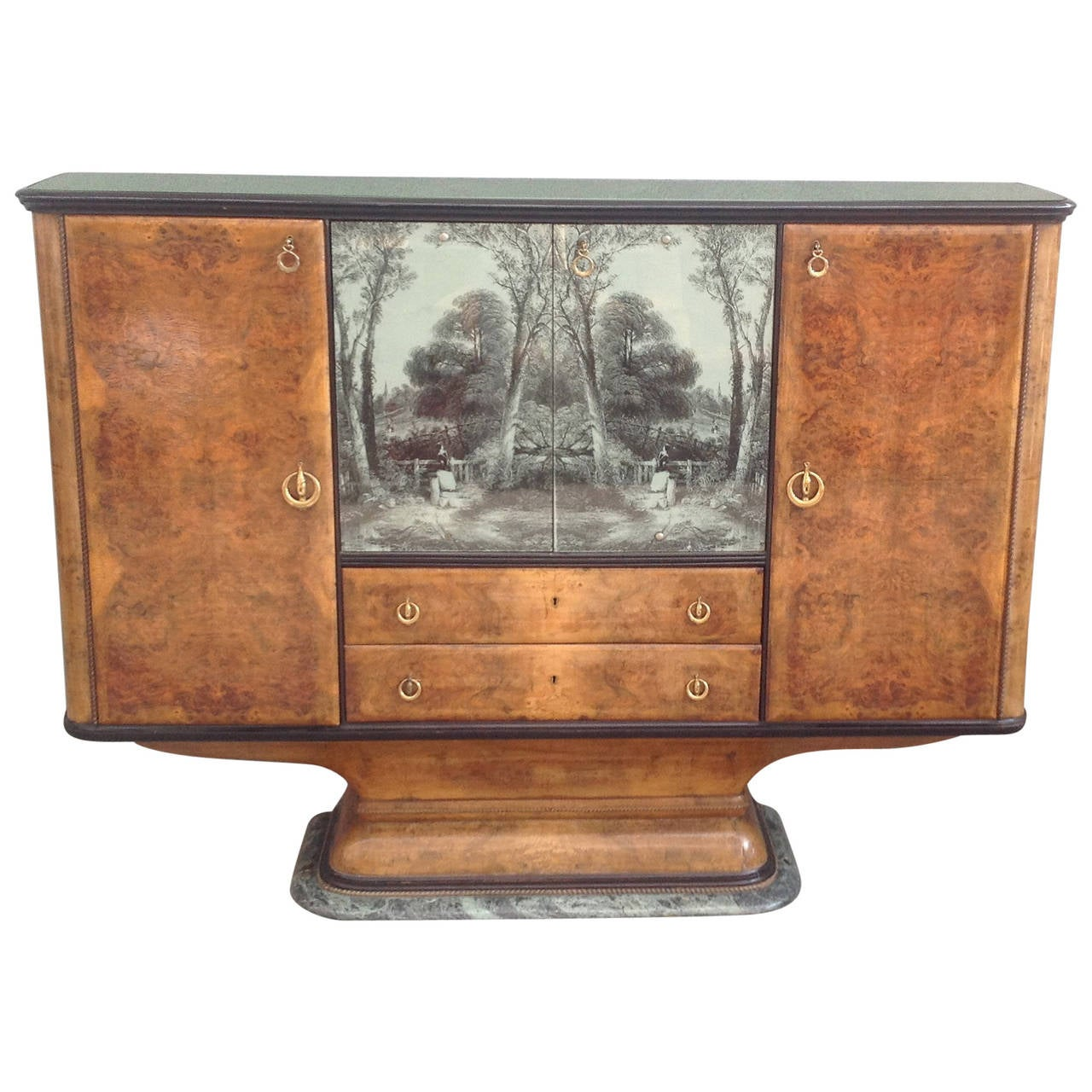 Bar Cabinet Attributed to Osvaldo Borsani