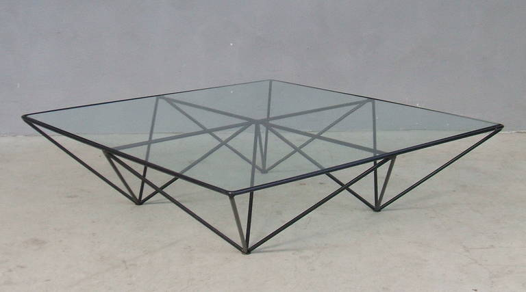 """Alanda"" Coffee Table by Paolo Piva for B & B, Italy 6"