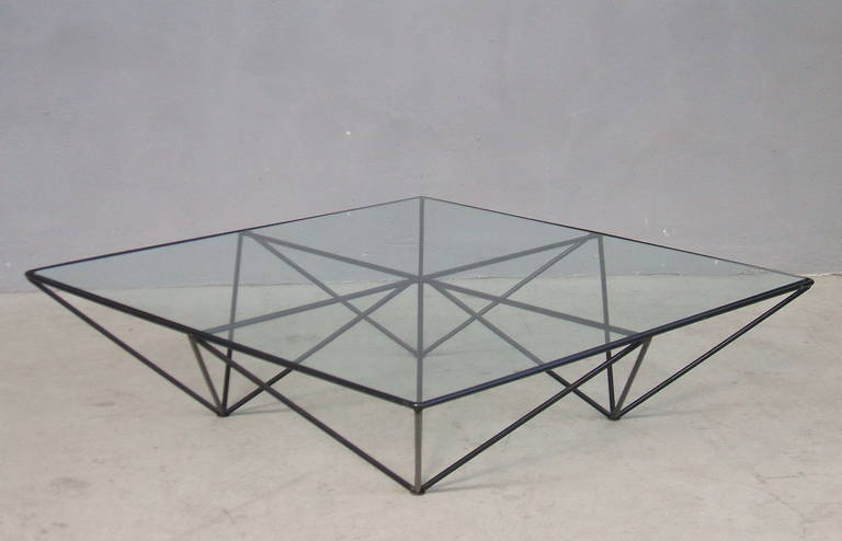 """Alanda"" Coffee Table by Paolo Piva for B & B, Italy 9"