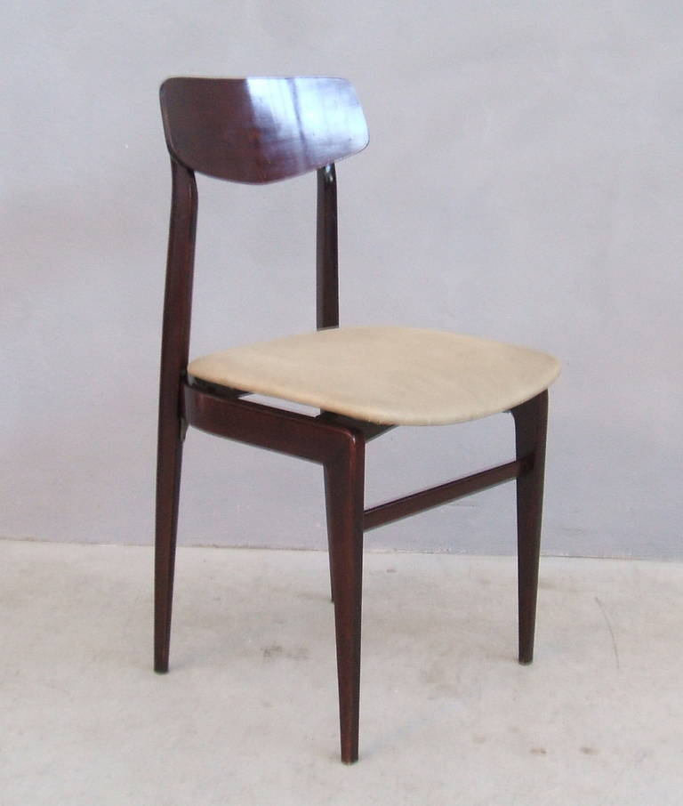 Set of four Cassina Chairs at 1stdibs