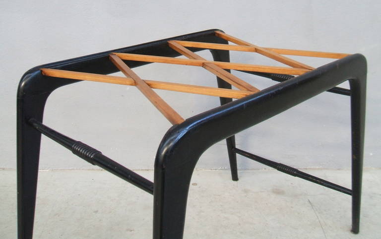 Glass Coffee table attribuited to Paolo Buffa For Sale