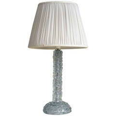 Chic table lamp attributed to Barovier