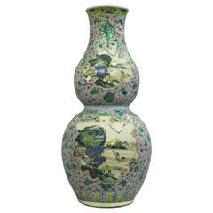 19th Century Double Gourd Vase
