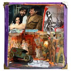"""Under Milk Wood,"" by Andrew Sinclair Diorama Including Elizabeth Taylor"