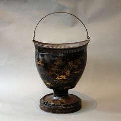 A 19th Century Tole Fire Bucket