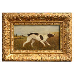 Charming 19th Century Dog Portrait
