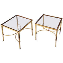 Pair of 20th Century Low End Tables