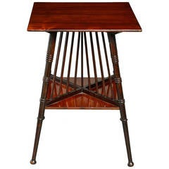 Late 19th Century Aesthetic Movement Occasional Table